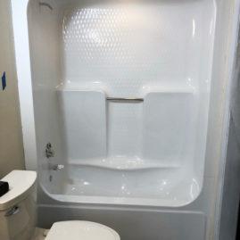 fiberglass shower refinishing reglazing